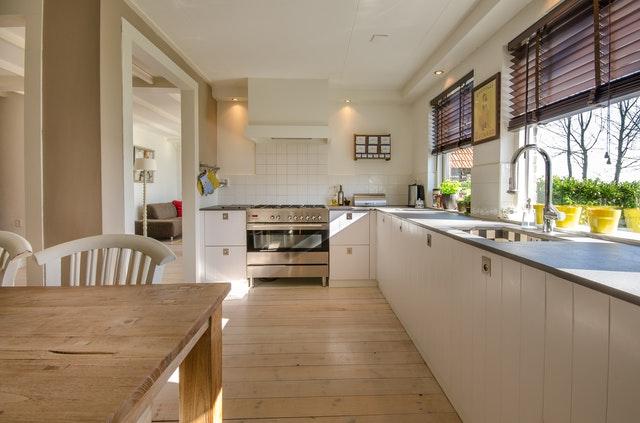 kuchyni přizpůsobte i prostoru, který máte k dispozici