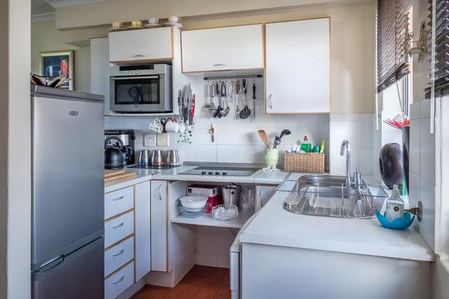 i v malé kuchyni můžete mít všechno, co potřebujete